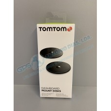 Adhesive Discs for the TomTom Dashboard